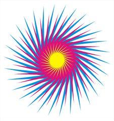 Free Colorful Sun Star Stock Photo - 8405660
