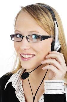 Free FRIENDLY Customer Representative Royalty Free Stock Photos - 8405888