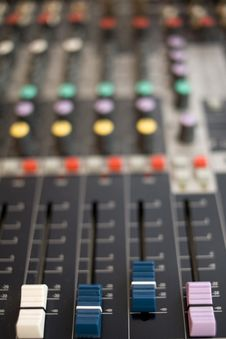 Free Sound Mixer Stock Image - 8405891