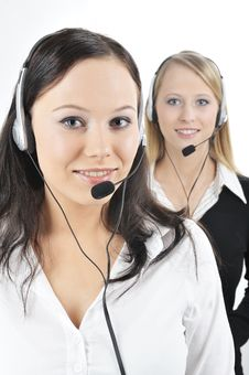 Free Friendly Customer Representative Stock Photos - 8405983