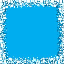 Free Blue Frame Background Royalty Free Stock Photo - 8406345