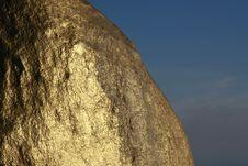 Free Kyaiktiyo Boulder Stupa (Golden Rock) Stock Photography - 8406722