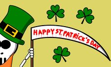 Free Happy Saint Patrick S Day Stock Photography - 8406872