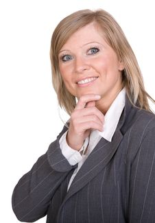Free Businesswoman Royalty Free Stock Photography - 8406997