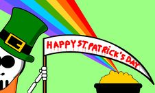 Free Happy St Patrick S Day Royalty Free Stock Photography - 8407117