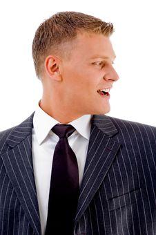Free Portrait Of Happy Businessman Royalty Free Stock Photo - 8407575