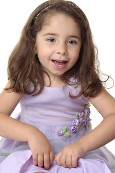 Free Happy Joyous Young Girl Playing Royalty Free Stock Photo - 8407635