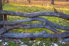 Free Wooden Fence Royalty Free Stock Photography - 8407647
