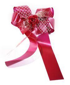 Free Red Gift Bow Stock Photography - 8408392