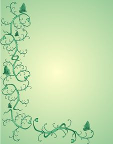 Free Green Vintage Background Stock Photos - 8408493