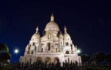 Free Sacre-Coeur Basilica Stock Photography - 8408512