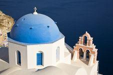 Free Greek Church, Santorini, Greece Stock Photo - 8408680