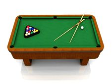 Free Billiard Table Stock Photos - 8409123