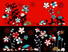 Free Vector Design Floral Stock Image - 8409331