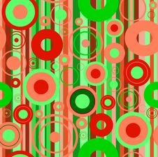 Free Stylish Green Background Royalty Free Stock Photo - 8409405