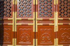 Free Close-Up Of Palace Gates Stock Photo - 8409440