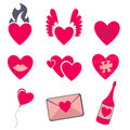 Free Love Icons Stock Images - 8411614