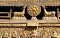 Free Buddhism Carving Royalty Free Stock Image - 8412676