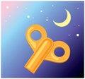 Free Orange Key Royalty Free Stock Photography - 8415277