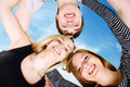 Free One Man And Two Women Royalty Free Stock Photo - 8416025