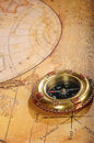 Free Old-fashioned Compass On A Background Royalty Free Stock Photo - 8417375