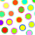 Free Color Dots Royalty Free Stock Photos - 8418518