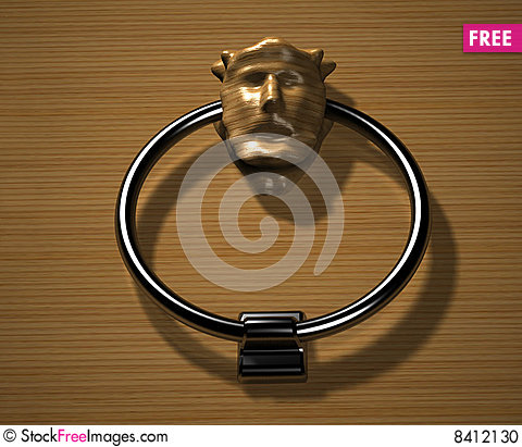 Free Doorknocker Stock Photo - 8412130