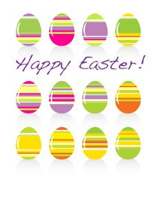 Free Easter Eggs Stock Images - 8410134