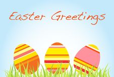 Free Easter Greetings Royalty Free Stock Photo - 8410155