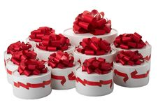 Free Gift Boxes Royalty Free Stock Photography - 8410627