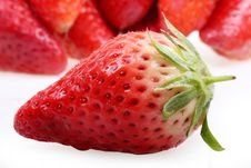 Free Fresh Strawberries Royalty Free Stock Photography - 8410637