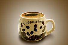 Free Cappuccino Stock Photos - 8410663