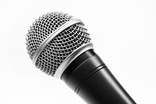 Free Microphone Royalty Free Stock Photo - 8410775