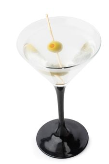 Free Martini With Olive Royalty Free Stock Image - 8410996