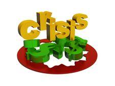 Free The World  Financial Crisis Royalty Free Stock Photos - 8411188