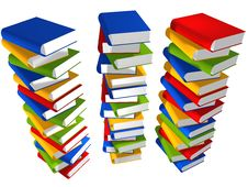 Free Lots Of Books Stock Photography - 8411272