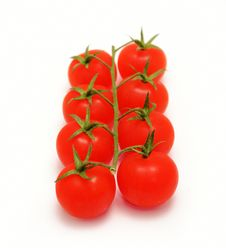 Free Cherry Tomatoes Royalty Free Stock Images - 8411279