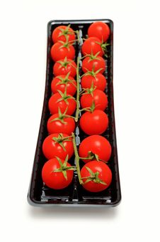 Free Packed Cherry Tomatoes Stock Photography - 8411332