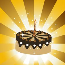Free Birthday Cake Royalty Free Stock Images - 8411389