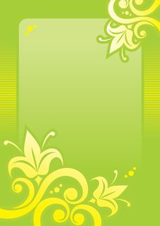 Free FLORAL BACKGROUND GREEN Stock Images - 8411574