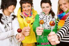 Want A  Lollipop Stock Image