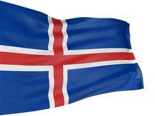 Free 3D Icelandic Flag Stock Photos - 8412083