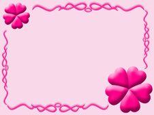 Free Love Frame Stock Image - 8412491