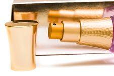 Beautiful Bottle Of Perfume Stock Image