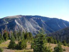 Free Wyoming Mountaintop Stock Image - 8412651