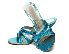 Free Woman Shoes Isolated Stock Photos - 8412673
