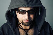 Free Guy Music Stock Photography - 8413212
