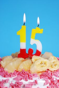 Free Birthday Cake Royalty Free Stock Photos - 8413218