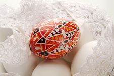 Free Painted Easter Egg Stock Image - 8413611