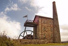 Cornish Tin Mine Stock Image